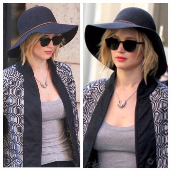 7330a998f5e Rag and bone dunaway hat M aso Jennifer Lawrence