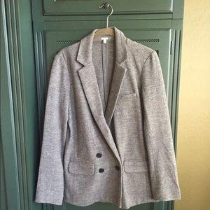 J. Crew gray blazer