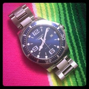 Longines Jewelry - Longines HydroConquest Mens Watch Case 41 mm.