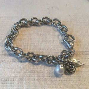 Paz Jewelry - Sterling Silver Charm Bracelet