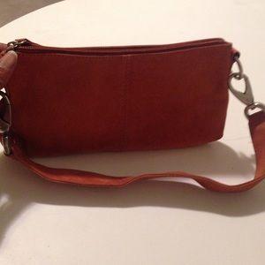 HOBO Handbags - Authentic suede clutch💥💥sale1 HR