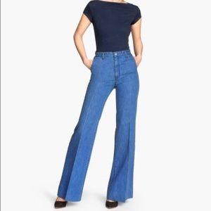 Zara wide leg jeans