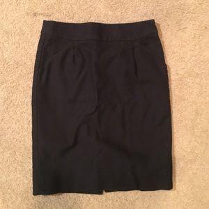 The J. Crew Pencil Skirt