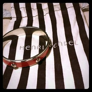 henri bendel Jewelry - SALE! Henri Bendel: Red Bangle