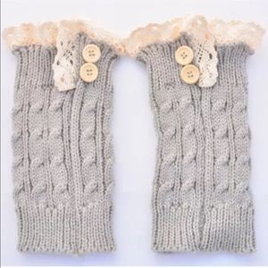 Accessories - Boot Cuffs with Ruffles