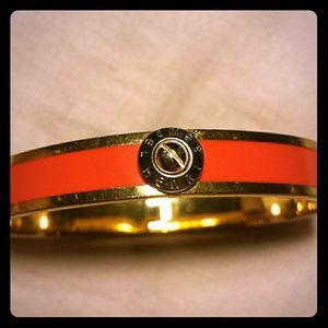 henri bendel Jewelry - SALE! Henri Bendel: Orange Bangle