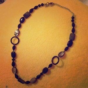 17 Sundays Accessories - Black shiny necklace