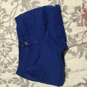Pants - Royal blue shorts from American Eagle