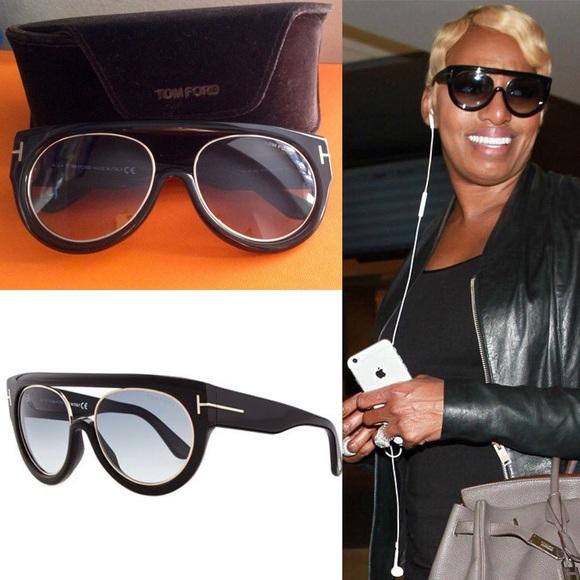 bf414df87b Tom Ford Alana aviator black sunglasses. M 57a7ea0541b4e04e66016e37