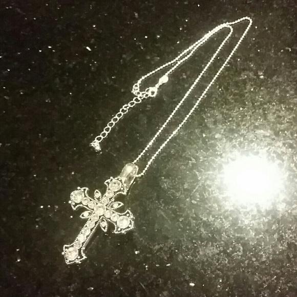 Premier designs premier designs cross necklace pendandt for Premier jewelry cross ring