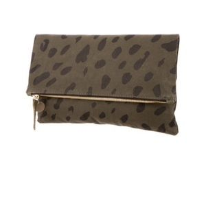 Clare Vivier Handbags - Clare V canvas clutch