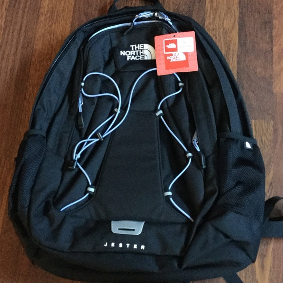 9bd8c3a55b The North Face Bags | W Jester Backpack Black Baby Blue | Poshmark