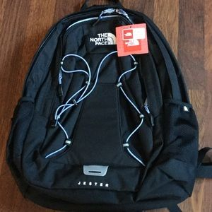 70a8a8df96f The North Face Bags - The North Face W Jester Backpack Black/ Baby Blue