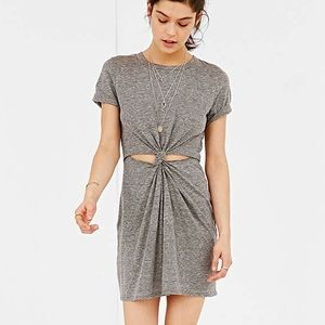 Urban Outfitters Honey Punch Knot Twist Dress