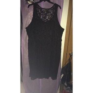 Black Lane Bryant Dress