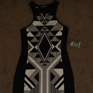 NWT Express Body Con Dress