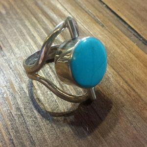 Jewelry - Flip stone, sterling silver ring
