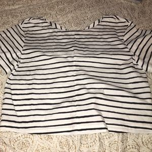 Striped nautical jcrew short sleeve top