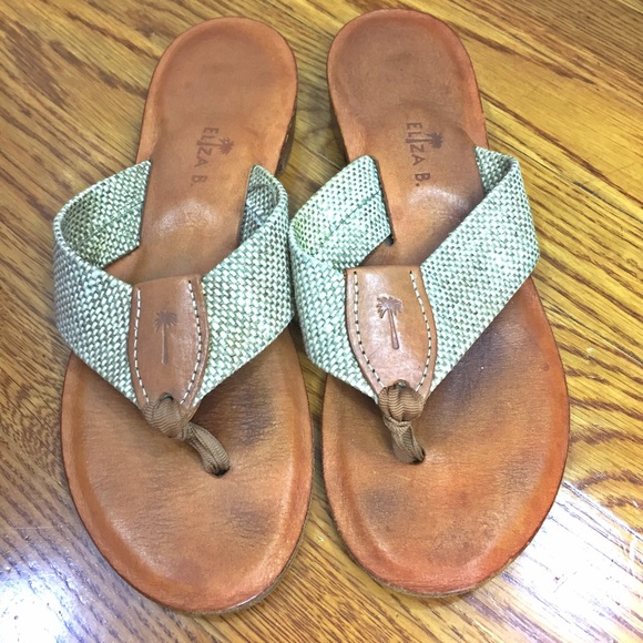 8f99cbc4ddd4 Eliza B Shoes - Eliza B Leather Sole Sandals