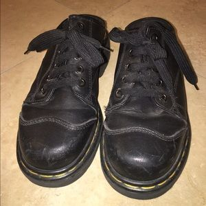 RARE slip-on Dr. Martens shoes