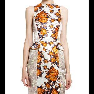SUNO Dresses & Skirts - NEW Suno Floral Side Peplum Dress 8