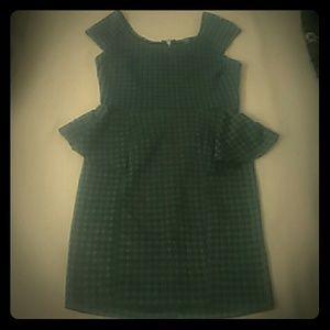 Rhapsody  Dresses & Skirts - Flattering peplum dress!