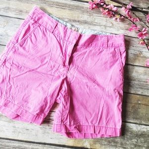 MOVING SALE  J. Crew Broken In Pink Chino Shorts
