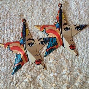 Jewelry - Wonder Super HERo Earrings (New)