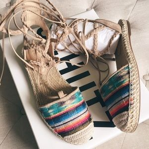 SCHUTZ Shoes - SCHUTZ Kobi Lace Up Espadrille BNIB