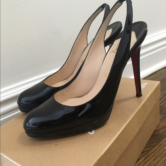 Christian Louboutin Patent Slingback Pumps finishline cheap online extremely sale online collections cheap price for sale sale online browse uylnxp
