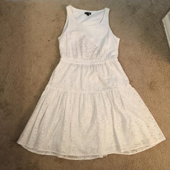 The Webster Miami at Target Dresses & Skirts - White Eyelet Dress