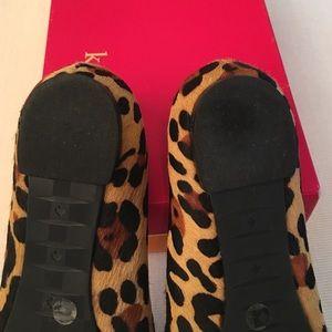 0818c52be9fd kate spade Shoes - Kate spade Tula calf hair leopard flats