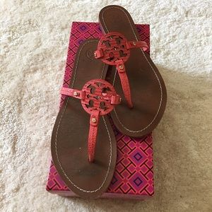 Tory Burch Mini Miller Sandals. Size 9. Used.