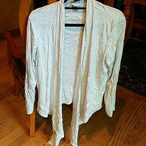 Chico's Other - Chico's white sweater wrap