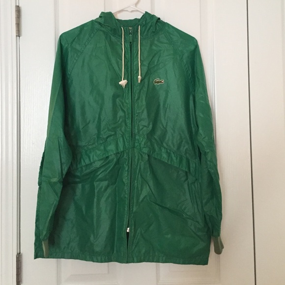 6cf00683a604 Lacoste Jackets   Blazers - Vintage Lacoste raincoat  rain jacket