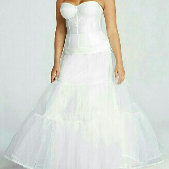 Davids Bridal Intimates Sleepwear Plus Size Ball Gown