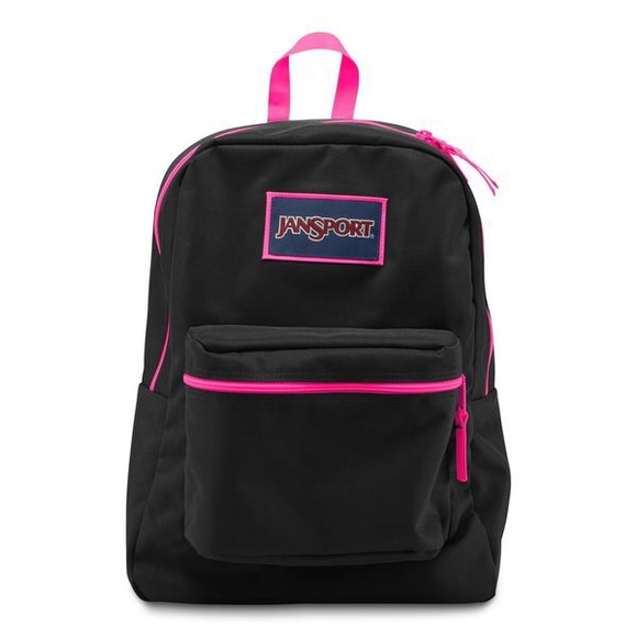 ff20216a145e Jansport Bags | Pink And Black Backpack | Poshmark