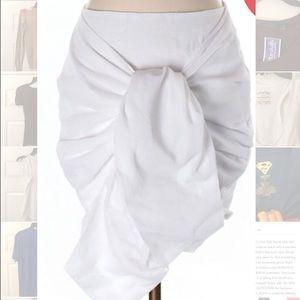  White Wrap Skirt JOA NWT GORGEOUS 