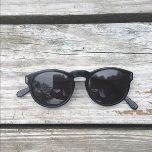 RetroSuperFuture Accessories - Retrosuperfuture Paloma Black Ivory sunnies