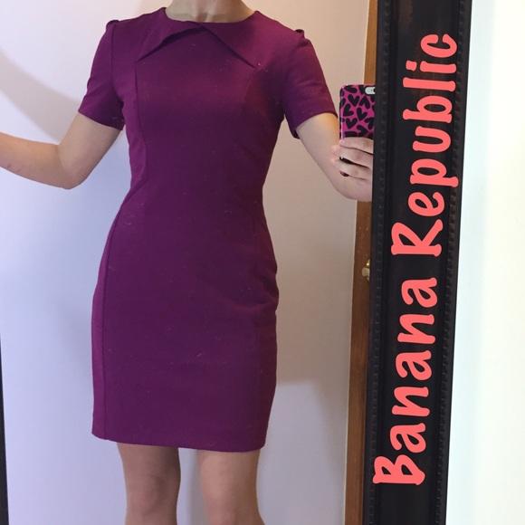 Banana Republic Dresses Beautiful Purple Dress Poshmark