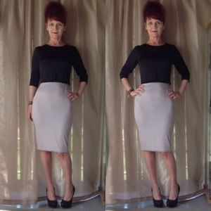 Dresses & Skirts - NEW IN PACKAGE GRAY/TAUPE & BLACK SKIRT SET