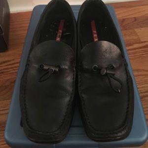 Prada Linea Rossa Shoes - Prada línea Rossa blk loafers sz 7.5US 37 1/2 Eur