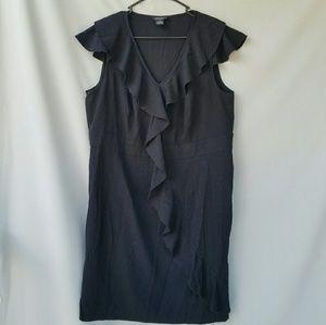 Spense Dresses & Skirts - Spense Black Ruffled Dress