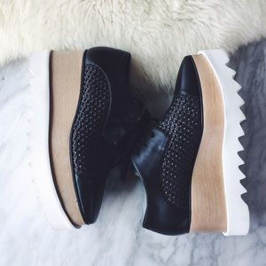 Stella McCartney Elyse Platform Oxfords