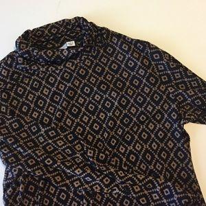 Susan Graver Tops - DONATING SOON❣️Final Price. Mock neck tunic