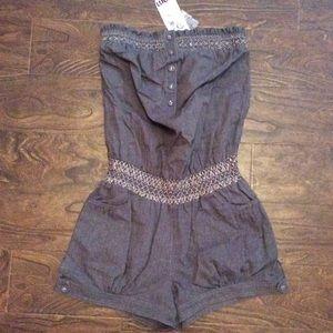 Love Culture Pants - Denim Style Romper
