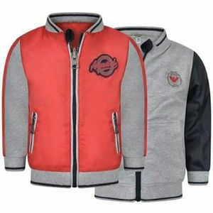 Armani Junior Other - Armani Baby Boy Red & Grey Reversable Zip Jacket