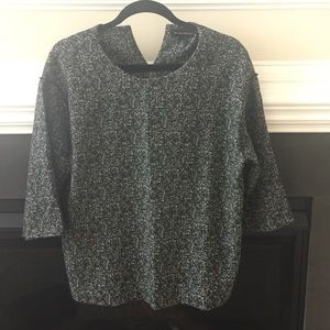 3/4 Sleeves Boxy Top Almost New