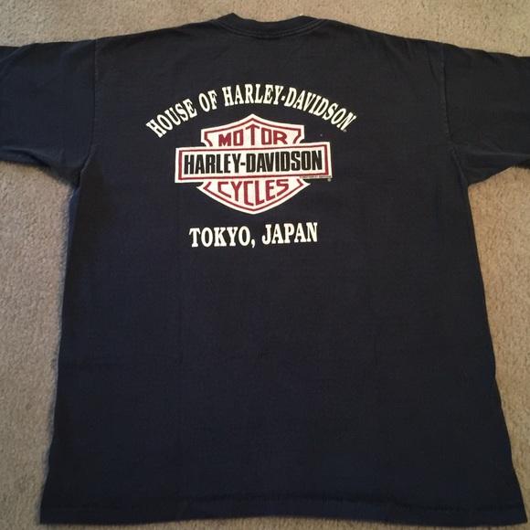 8ff1dfc6 Harley-Davidson Other - Vintage 1990s Harley-Davidson Tokyo, Japan T-Shirt