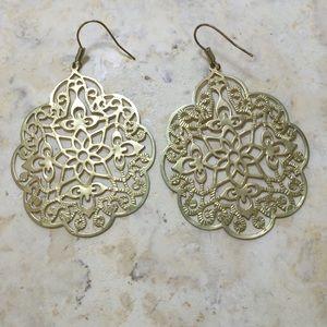 Jewelry - Mandala design earrings